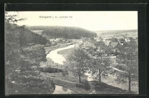 AK Königshof i. H., Teilansicht Süden