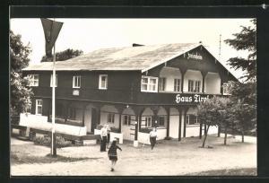 AK Buckow / Märk. Schweiz, FDGB-Erholungsheim Haus Tirol