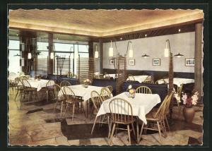 AK Niefern / Baden, Hotel Decker, Innenansicht