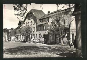 AK Buckow / Märk. Schweiz, HO-Lindenhotel