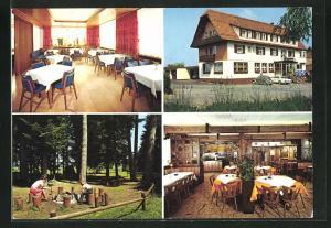 AK Freudenstadt-Untermusbach, Gasthaus Merzenberg