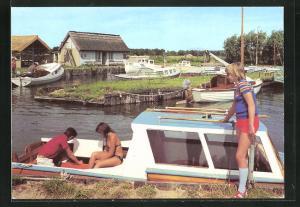 AK Koserow, Partie am Achterwasser