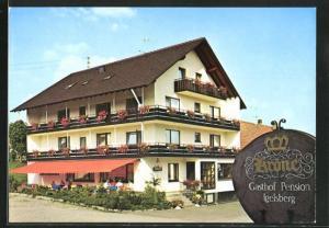 AK Freudenstadt-Igelsberg, Gasthaus-ension Krone