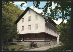 AK Ottenhöfen / Schwarzw., Waldhotel-Grillrestaurant Edelfrauengrab