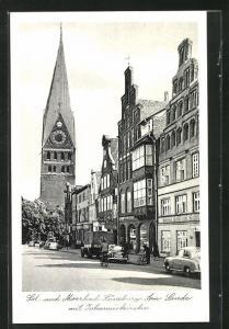 AK Lüneburg, Am Sande mit Johanniskirche