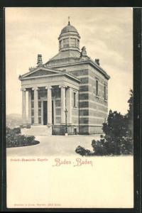 AK Baden-Baden, Griech.-Russische Kapelle