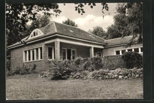 AK Kloster / Hiddensee, Gerhart-Hauptmann-Haus