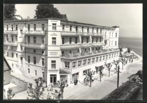 AK Sellin / Rügen, Hotel Kurhaus Frieden