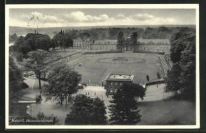 AK Kassel, Hessenkampfbahn, Stadion