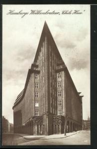 AK Hamburg Kontorhausviertel, Hamburgs Wolkenkratzer Chile Haus