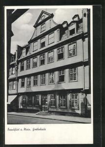 AK Alt-Frankfurt a. Main, Goethehaus