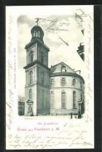 AK Alt-Frankfurt a. M., Paulsplatz mit Paulskirche