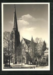 AK Berlin-Zehlendorf, Ansicht der Pauluskirche