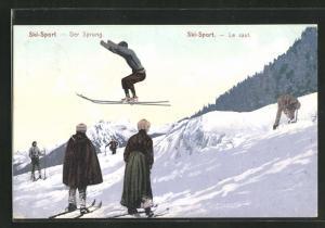 AK Ski-Sport, der Sprung