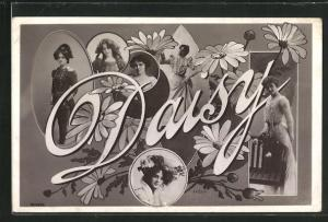 AK Daisy, Namenstag, Frauentypen
