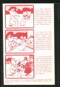 AK The amusing adventures of the Jumbo Twins, published in the Home Circle, Elefant