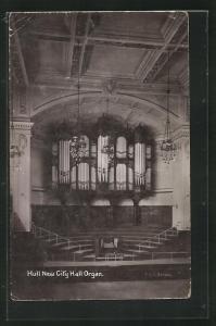 AK Hull, New City Hall Organ, Orgel
