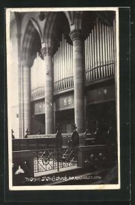 AK Far Headingley, St. Chod`s Church, The Organ, Orgel