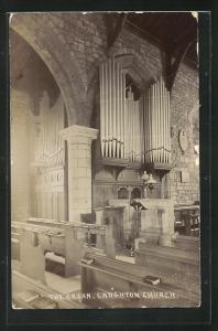 AK Laughton, Church, The Organ, Orgel