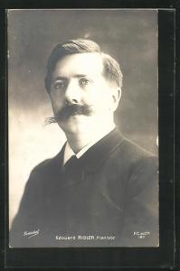 AK Musiker Edouard Risler, Pianiste