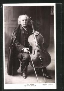 AK Musiker Van Biene, Actor Musician, Cello
