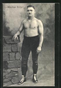 AK Ringer Maxilian Saltor in Sportkleidung