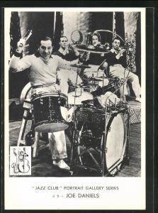 AK Jazz-Musiker Joe Daniels am Schlagzeug