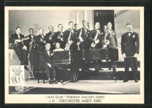 AK Jazz Orchestre Andy Kirk, Musiker mit Instrumenten