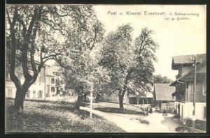 AK Schwarzenberg, Post und Käserei Ennetmatt