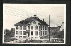 AK Kirchberg, Schulhaus mit Umgebung