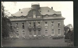 Foto-AK Berlin-Zehlendorf, Blick auf die Villa Engel