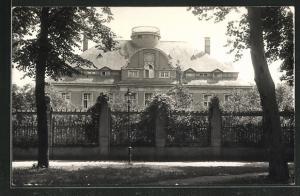 Foto-AK Berlin-Zehlendorf, Villa Engel von der Strassenseite