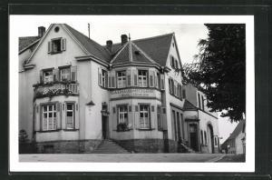 Foto-AK Altenkirchen / Pfalz, Gasthaus & Metzgerei Karl Böhnlein