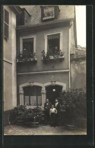 AK Bad Dürkheim, Haus der Familie Gassmann