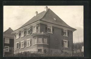 Foto-AK Meersburg / Bodensee, Ansicht vom Haus Wilhelm Niebel