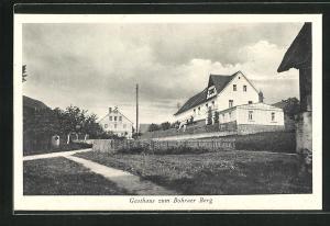 AK Bohra-Ostritz, Gasthaus zum Bohraer Berg von Paul Gebauer