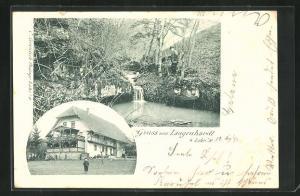 AK Lahr / Schwarzwald, Gasthaus zum Langenhardt