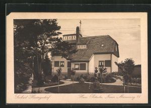 AK Heringsdorf, Pension Haus Poladu, Neuer Mövenweg 11, Gartenseite