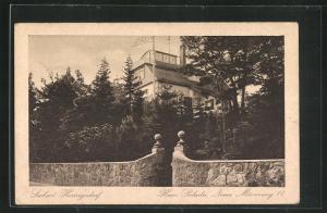 AK Heringsdorf, Pension Haus Poladu, Neuer Mövenweg 11, Strassenseite
