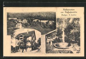 AK Uhingen, Restaurant zur Nassachmühle von G. Gabler