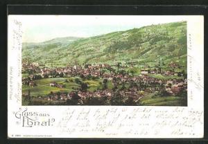 Lithographie Ebnat, Panorama