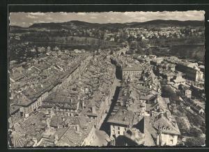 AK Bern, Blick auf die Unterer Stadt