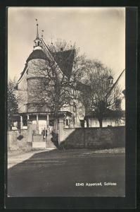 AK Appenzell, Blick zum Schloss