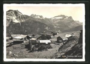 AK Andeer, Panorama mit Promischur