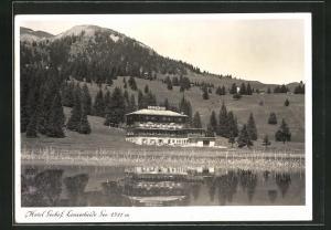 AK Lenzerheide, Blick zum Hotel Seehof