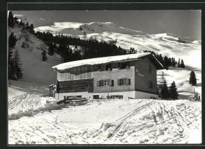 AK Lenzerheide-Raschainas, Ski- und Ferienhaus Acla Raschainas mit Piz Scalottas