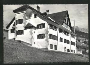 AK Luzein, Basler Ferienheim Haus Tommis