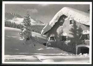 AK Parpan, Hotel Krone im Schnee
