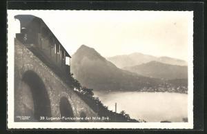 AK Lugano-Funicolare del Mte. Brè