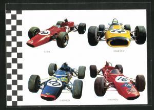 AK Rennautos von Titan, Brabham und Chevron